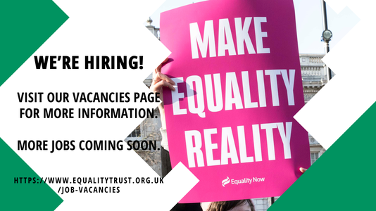 Equality Trust jobs