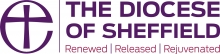 The Diocese of Sheffield logo: Renewed Released Rejuvenated