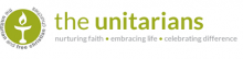 The Unitarians logo: nurturing faith, embracing life, celebrating difference